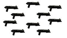 10-teiliges Waffenset: 10xClone Blaster z.B. für LEGO® Star Wars™ Figuren *BT567