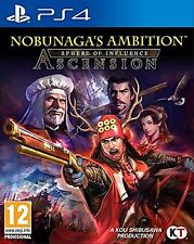 PS4 Nobunagas Ambition Sphere Of Influence Ascension Nuevo Precintado Pal España