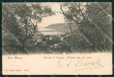 Imperia Sanremo STRAPPINI cartolina XB2836