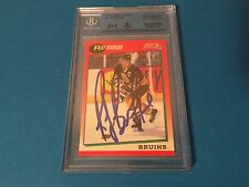 Ray Bourque Bruins 1991-92 Score American Card Signed Auto JSA Certified