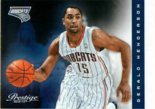 2012-13 Prestige #66 Gerald Henderson Charlotte Bobcats NM Basketball Single
