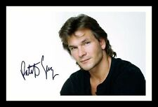 PATRICK SWAYZE AUTOGRAPHED SIGNED & FRAMED PP POSTER PHOTO