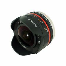 Rokinon 7.5mm F3.5 UMC Fisheye lens for Micro 4/3 m43 Panasonic Lumix DMC-GF2 G5
