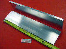 "2 Pieces 3/8"" X 3"" ALUMINUM 6061 FLAT BAR 14"" long .375"" Solid Plate Mill Stock"