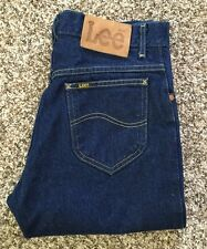 Vintage Lee Rider Straight Leg Denim Blue Jean Talon 42 Size 29x31 Make In USA
