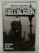 John Constantine HELLBLAZER: REASONS to be CHEERFUL TPB - Carey MANCO Vertigo DC