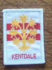 Vintage Cloth Patch Scout Badge Scouting Memorabilia Kentdale Cumbria Kendal