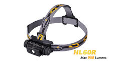 Fenix HL60R 950LM CREE XM-L2 T6 LED USB Rechargeable 18650 Headlamp Head Torch