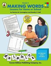 Making Words: Lessons for Home or School (Grade 3), Dorothy Hall, Patricia Cunni