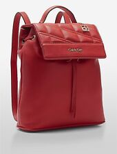 NWT Calvin Klein Kora Studio Slim Backpack Berry