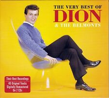 DION & THE BELMONTS - THE VERY BEST OF (NEW SEALED 2CD) 40 ORIGINAL TRACKS