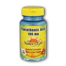 Pantothenic Acid 100 tabs 100 mg by Nature's Life