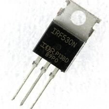 2 PCS IRF530NPBF IRF530N Power MOSFET TO-220 IR NEW IC