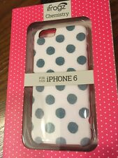 New In Box ifrogz Chemistry iPhone 6 Case Green Polka Dots