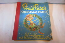 Rare Vintage 1937 Wolff Book Co-Pixie Petes Christmas Party