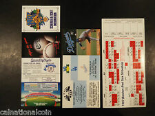 1987 Los Angeles Dodgers, Boston Red Sox, and Kansas City Royals schedules