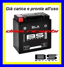 Batteria Moto BS SLA Gel BETA ALP 200 05 06 già carica pronta  all'uso 2005 2006