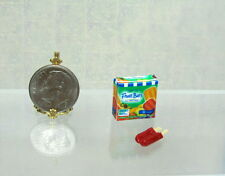 Dollhouse Miniature Handcrafted Red Fruit Bar with Box