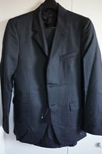 Brand New Men Prada Charcoal Pinstripe Suit Size 40 R $1,995 Oxxford Collezioni