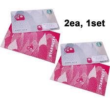 Starbucks Korea 2016 Red Monkey Card 2ea + original sleeve 2ea