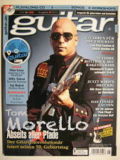 GUITAR MAGAZINE 2014/6 NR. 169 - TOM MORELLO PINK FLOYD LES PAUL CUSTOM INCL. CD
