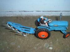 CORGI TOYS FORDSON POWER MAJOR WITH PLOUGH & NEW DRIVER OUTSIDE LIGHTS 1 REPLACE