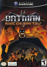 Batman: Rise of Sin Tzu with Lithograph NGC New GameCube