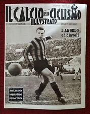Il calcio e il ciclismo illustrato 1959 n° 4 Lanerossi, Bologna, Napoli   23/6
