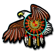 Eagle Dream Catcher Patch Iron On Feather Harley Motorcycle Tattoo Navajo Biker