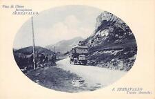 3698) CORRIERA POSTALE TRA BARCOLA E TRIESTE VINO DI CHINA SERRAVALLO.