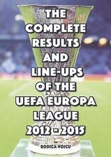 Complete Results And Line-ups Of The Uefa Europa League 2012-2015 Ionescu  Romeo