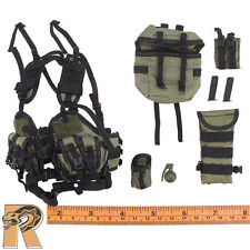 Navy SEAL UDT - Tactical Vest Set w/ Pouces - 1/6 Scale Mini Times Action Figure