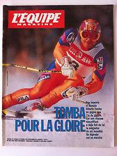 L'Equipe Magazine du 26/2/1994; Tomba pour la gloire/ Entretien Jürgen Klinsmann