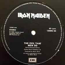 "IRON MAIDEN - The Evil That Men Do (12"") (G+/G+)"