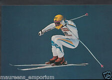 Sports Postcard- Skiing - Men's Downhill Racing Championships, Switzerland RR924