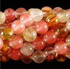 10MM 15inches Watermelon Tourmaline Gem Round Loose Bead