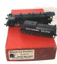 "HO BRASS WMC SOUTHERN PACIFIC 4-10-2 CUSTOM-PAINTED ROAD NUMBER ""5047"" - A BEAUT"