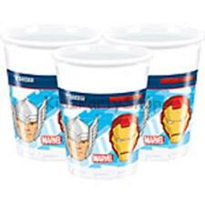 Avengers Birthday Party - 8 Plastic Cups 180ml - Free Postage in UK