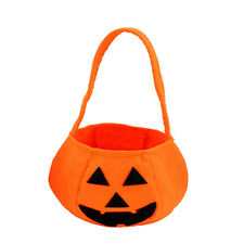Smile Pumpkin Bag Kids Candy Bag Handbag Halloween Holiday
