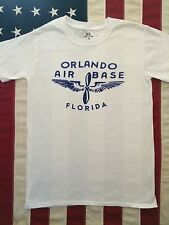 WWII US AAF Orlando Air Base Florida T Shirt Repro, Men's size XXXL 3XL
