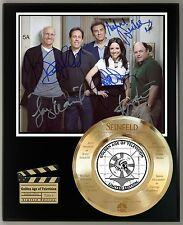 SEINFELD LIMITED EDITION SIGNATURE & LASER ETCHED TV SERIES DISPLAY