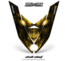 SKI-DOO REV XP SNOWMOBILE HOOD CREATORX GRAPHICS KIT DECAL SCY
