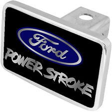 New Ford Power Stroke Blue Logo Tow Hitch Cover Plug
