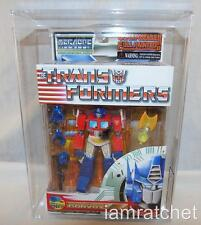 Transformers AFA 90 MegaSCF Convoy Battle Damage Optimus Prime MISB