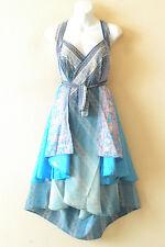 """M275 Reversible Vintage Silk Magic 30"""" Length Wrap Skirt Halter Tube Dress + DVD"""