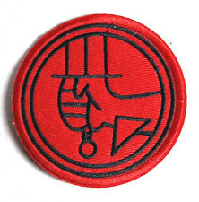 """Hellboy Movie Red Logo 3""""  Patch- FREE S&H (HBPA-001)"""