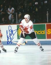DENIS POTVIN signed TEAM CANADA ISLANDERS 8X10 CANADA CUP photo w/ COA