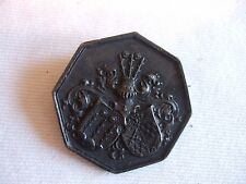 ANTIQUE HUNTING MEDAL 1887 Shields