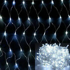 1.5m X 1.5m 80 LED Bright white Web Net Fairy Lights for Christmas Wedding Party
