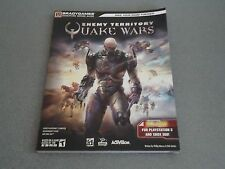 Enemy Territory Quake Wars Paperback Guide   NEW